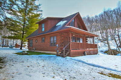 Vernon County Single Family Home Active Contingent With Offer: E9957 County Road P
