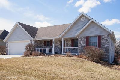 West Bend Single Family Home Active Contingent With Offer: 104 Erin Ct
