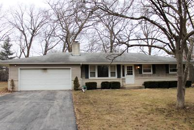 Pleasant Prairie Single Family Home For Sale: 3210 101st St