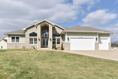 Single Family Home Active Contingent With Offer: W125s9379 Prairie Meadows Dr