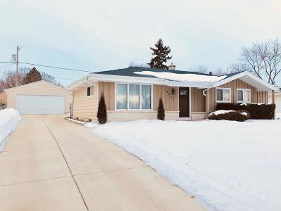 Single Family Home For Sale: 8801 W Portage St
