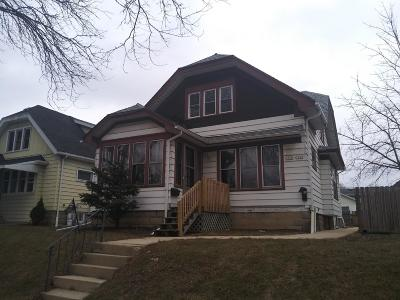 West Allis Two Family Home Active Contingent With Offer: 1560 S 59th St #1562