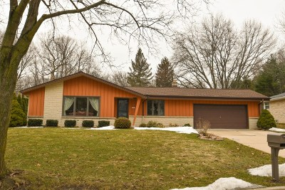 West Allis Single Family Home Active Contingent With Offer: 12107 W Verona Ct