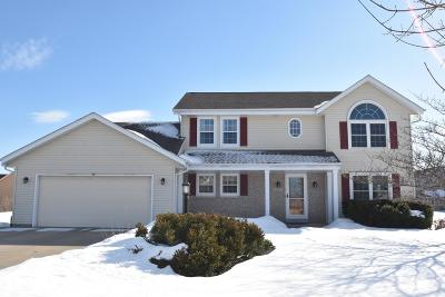 Single Family Home Active Contingent With Offer: 4665 W High View Dr