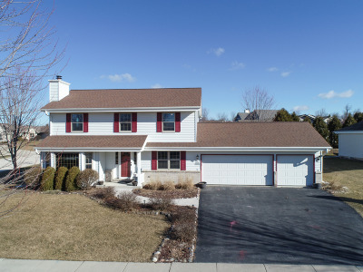 Jackson WI Single Family Home Active Contingent With Offer: $284,900