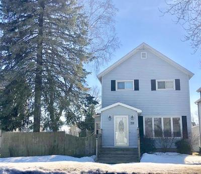 Marinette Single Family Home For Sale: 719 Water St