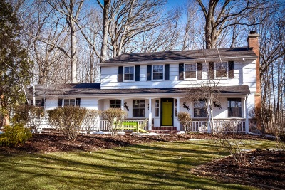Mequon Single Family Home Active Contingent With Offer: 3518 W Donges Bay Rd