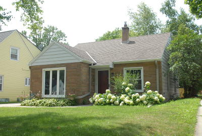 West Allis Single Family Home Active Contingent With Offer: 2117 S 95th St