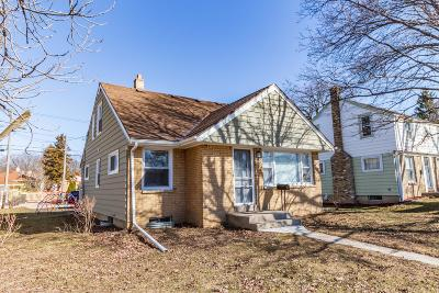 West Allis Single Family Home Active Contingent With Offer: 2136 S 108th St