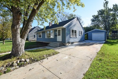 Menomonee Falls Single Family Home Active Contingent With Offer: W166n8570 Theodore Ave