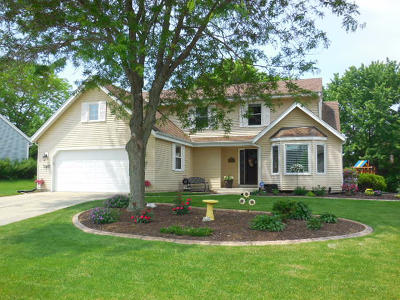 Menomonee Falls Single Family Home Active Contingent With Offer: W154n7737 Pheasant Ln
