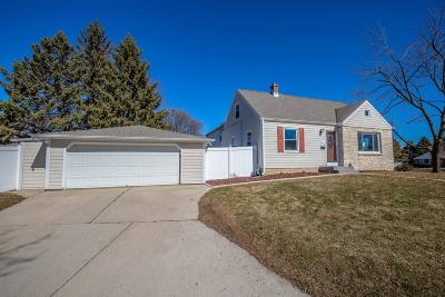 West Allis Single Family Home Active Contingent With Offer: 2890 S 83rd St