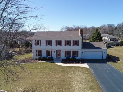 Brookfield Single Family Home Active Contingent With Offer: 1135 Hawthorne Ridge Dr
