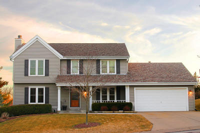 Mukwonago Single Family Home Active Contingent With Offer: 1247 Riverton Dr