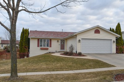Watertown Single Family Home Active Contingent With Offer: 824 Wild Rose Way