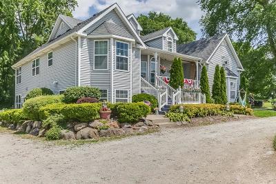 Kenosha County Single Family Home For Sale: 9503 Antioch Rd