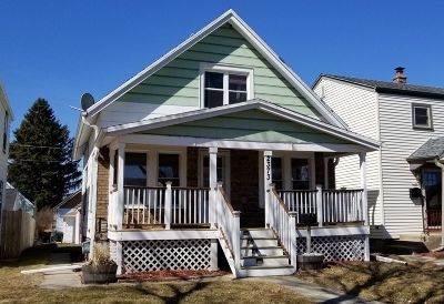 West Allis Single Family Home Active Contingent With Offer: 2373 S 75th St