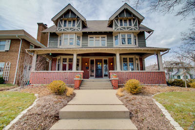 Milwaukee Single Family Home Active Contingent With Offer: 2591 N Summit Ave