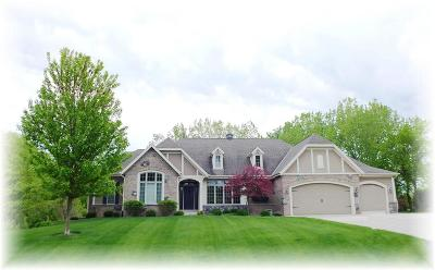 Racine Single Family Home Active Contingent With Offer: 4205 Quarry Springs Dr