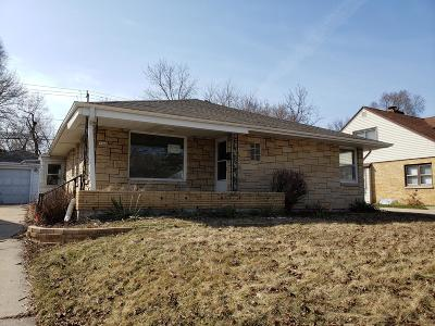 West Allis Single Family Home Active Contingent With Offer: 1349 S 95th St