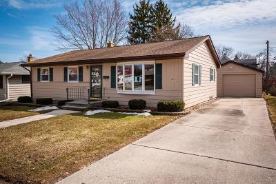 Sheboygan Falls Single Family Home Active Contingent With Offer: 521 Fond Du Lac Ave
