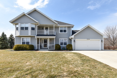 Menomonee Falls Single Family Home Active Contingent With Offer: W139n6483 Manor Hills Blvd