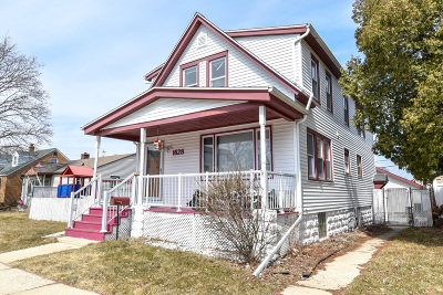 South Milwaukee Single Family Home For Sale: 1628 Manitoba Ave