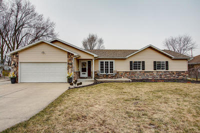 Pleasant Prairie Single Family Home Active Contingent With Offer: 12124 43rd Ave