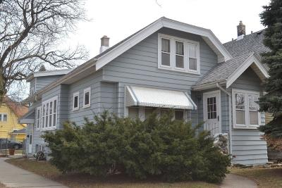 Single Family Home Active Contingent With Offer: 2600 S 31st St