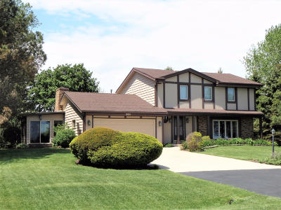 Pleasant Prairie WI Single Family Home For Sale: $485,000