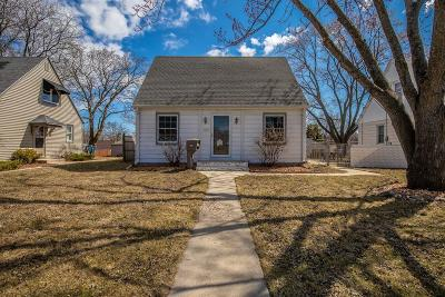 West Allis Single Family Home Active Contingent With Offer: 2884 S 92nd St