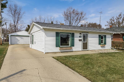 Kenosha Single Family Home Active Contingent With Offer: 5418 39th Ave