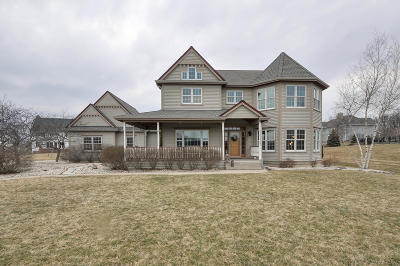 Racine County Single Family Home Active Contingent With Offer: 350 Wellington Dr