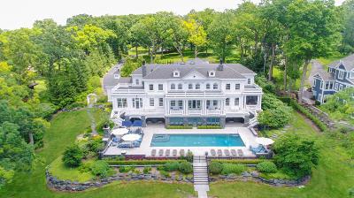 Lake Geneva Single Family Home For Sale: 590 S Lake Shore Dr