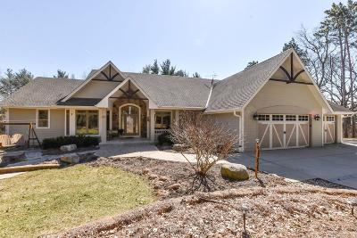 Whitewater Single Family Home For Sale: W5476 Whitetail Trl