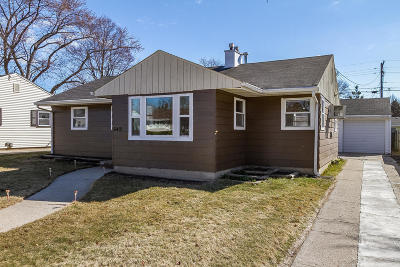 Kenosha Single Family Home Active Contingent With Offer: 6401 49th Ave
