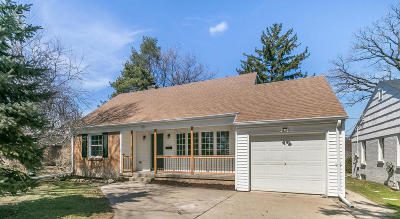 Single Family Home Active Contingent With Offer: 7122 W Bluemound Rd