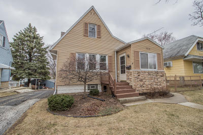 West Allis Single Family Home Active Contingent With Offer: 9836 W Harrison Ave