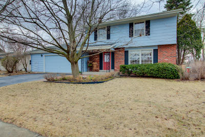 Menomonee Falls Single Family Home Active Contingent With Offer: W180n8215 Town Hall Rd