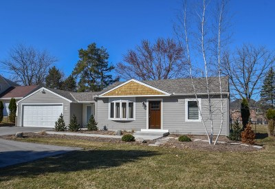 Pewaukee Single Family Home Active Contingent With Offer: W280n1661 Prospect Ave