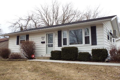 Sheboygan Single Family Home For Sale: 2523 N 25th St