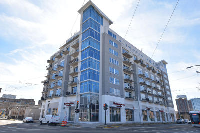 Milwaukee County Condo/Townhouse Active Contingent With Offer: 601 E Ogden Ave #803