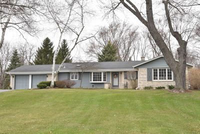 Ozaukee County Single Family Home Active Contingent With Offer: 8420 W Hillview Dr