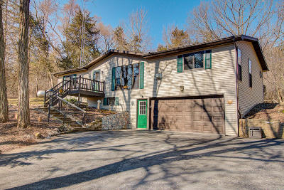 Lake Mills Single Family Home For Sale: N7061 North Shore Rd