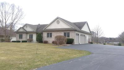 Genoa City Single Family Home Active Contingent With Offer: 39805 Lake Park Ct