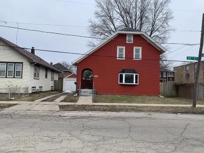 Kenosha Single Family Home For Sale: 1439 59th St