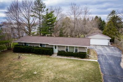 Saukville Single Family Home Active Contingent With Offer: 3235 County Road O