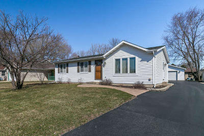 Pleasant Prairie Single Family Home Active Contingent With Offer: 910 91st Pl