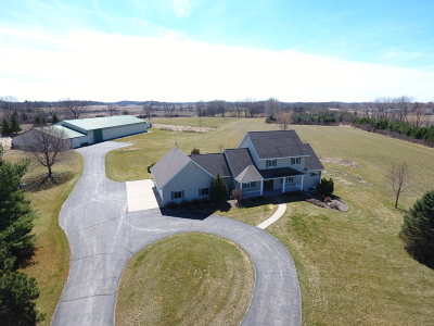 Jefferson County Single Family Home For Sale: W1975 Bakertown Dr
