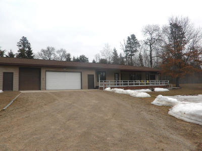 Marinette County Single Family Home For Sale: W10249 County Rd X